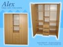 Alex szekrény