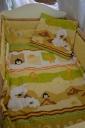 Babaágynemű macis pingvines 3 részes