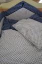 Glück kék matróz ágynemű garnitúra