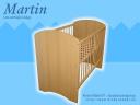 Martin zártvégű kiságy
