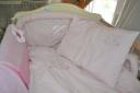 Rózsaszín nyuszis ágynemű garnitúra